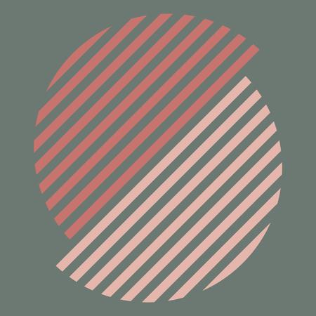 Nature tones Swiss graphic design pattern 向量圖像
