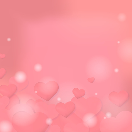 Valentine's day vector design concept Illustration