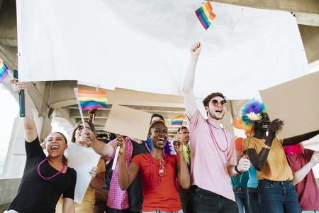 Orgullo alegre y festival