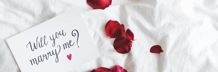 Wirst du mich auf einer Karte heiraten?