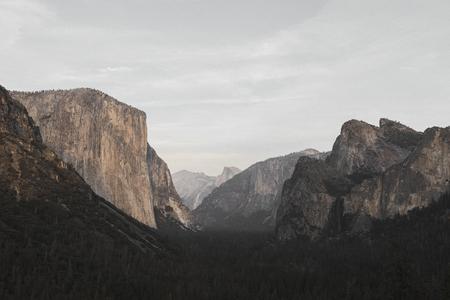 View of Yosemite National Park, USA