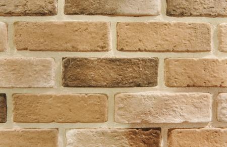 Brown brick wall textured wallpaper