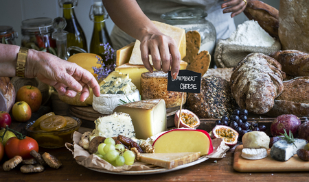 Cheese shop food photography recipe idea