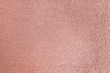 Close up of pink blush glitter textured background