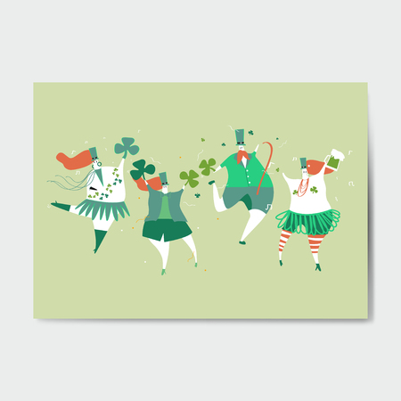 St. Patrick's Day celebration vector