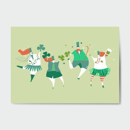 St. Patrick's Day celebration vector