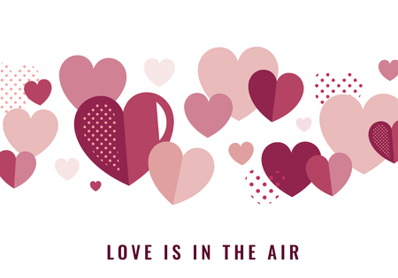 Valentine's Day banner decoration vector Stock Vector - 125376301