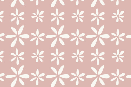 Pink floral patterned background vector  イラスト・ベクター素材