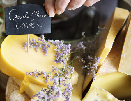 Gouda cheese food photography recipe idea