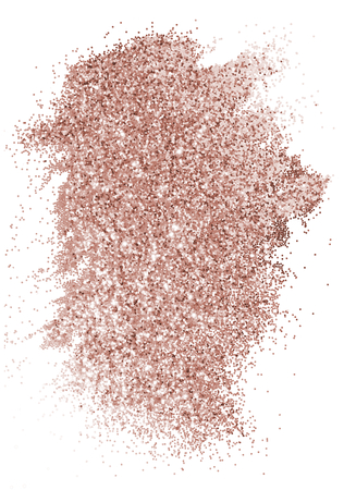 Festive sparkly pink glitter background badge Reklamní fotografie