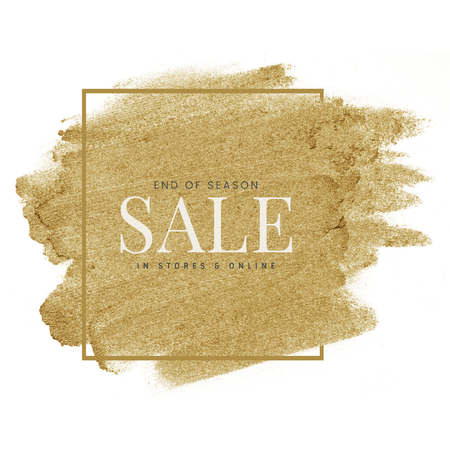 End of Season Sale in stores