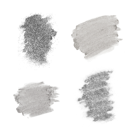 Festive shimmery gray brush stroke 版權商用圖片