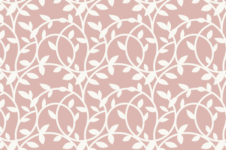 Pink floral patterned background vector Illusztráció