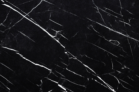 Close up of a black and white marble textured wall Archivio Fotografico