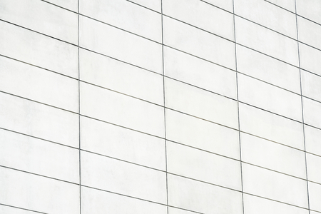 Modern wall with rectangular bricks Stock Photo