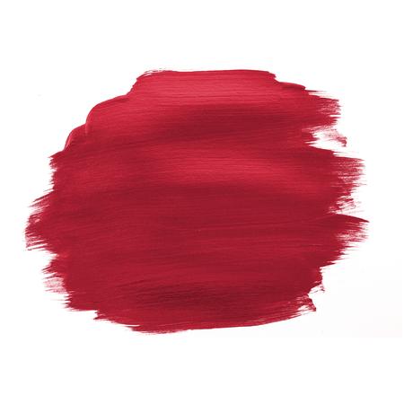 Festive shimmery red brush stroke
