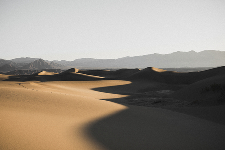 View of Death Valley in California, United States