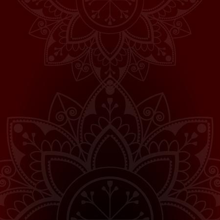 Eid mubarak lotus background vector Reklamní fotografie - 116995189