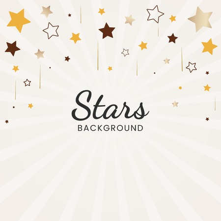 Festive stars background design vector Stock fotó - 125239660