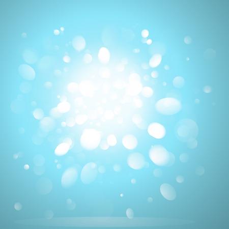 Unscharfer leuchtender Hintergrundeffektvektor Vektorgrafik