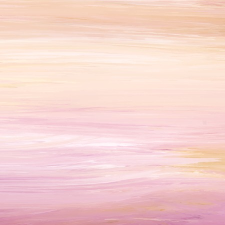 Peach abstract acrylic brush stroke textured background vector