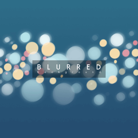 Blurred glowing background effect vector Imagens - 125239724