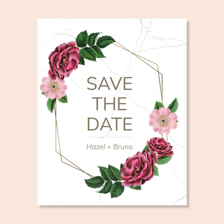 Floral wedding decoration 스톡 콘텐츠 - 117360459