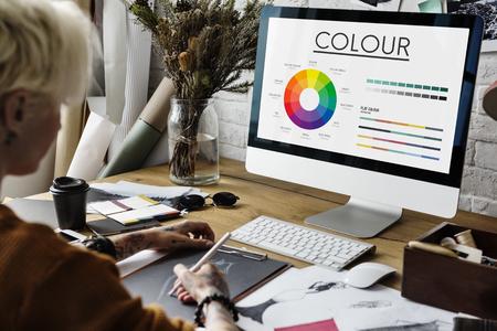 Colour CMYK Creativity Design Inspirational Stock Photo - 117116140