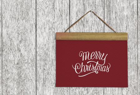Christmas holiday greeting design mockup Stock fotó