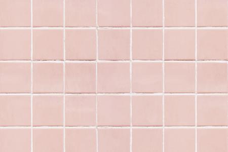 Fondo de textura de azulejos cuadrados rosa Foto de archivo
