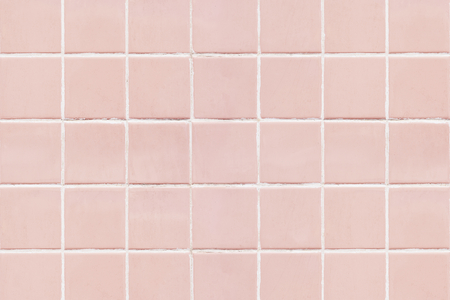 Pink square tiled texture background 免版税图像