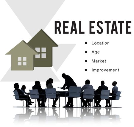 Real Estate Mortgage Loan Concept Banque d'images - 117608792