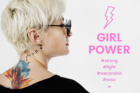 Girl power women rights for justice equality