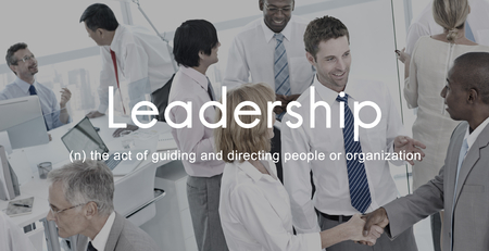 Leadership Lead Guiding Support Integrity Concept Stock Photo