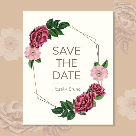 Floral wedding decoration 스톡 콘텐츠 - 117801038