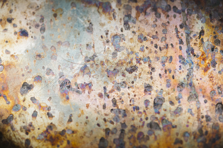Weathered metal textured background design