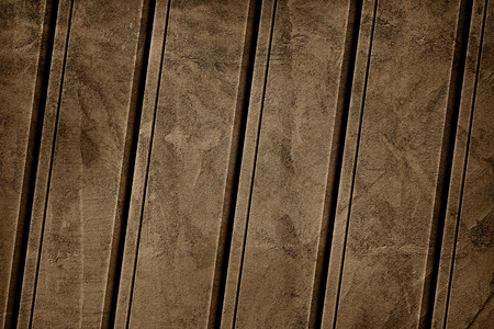 Brown paint exposed concrete wall textured background Reklamní fotografie