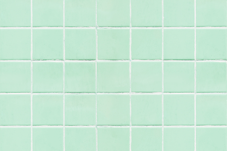 Mint green tiles textured background