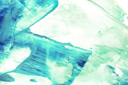 Blue painted abstract textured background 스톡 콘텐츠
