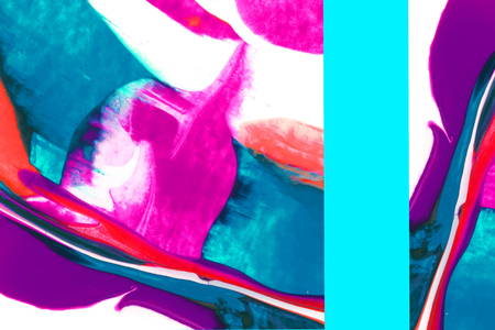 Colorful abstract art design background