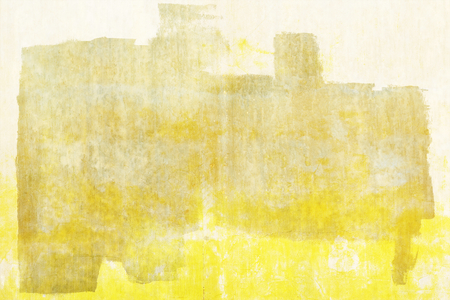 Yellow pained on a concrete wall