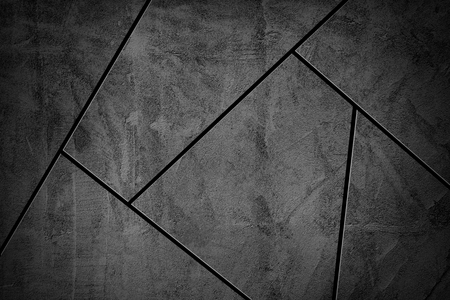Vignette dark gray mosaic tiles textured background