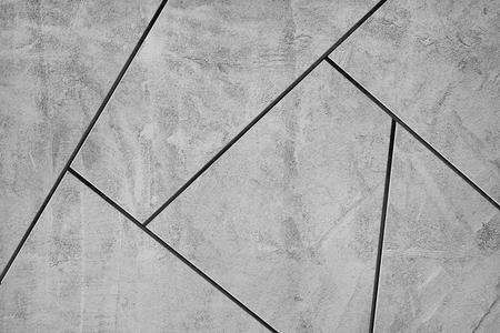 Fondo strutturato delle tessere di mosaico grigio Archivio Fotografico