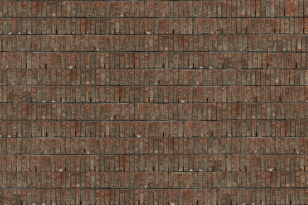 Rustic brownish tiles textured background