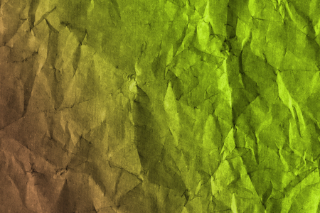 Colorful crumpled textured paper background