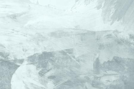 Pale blue paintbrush stroke textured background Stock Photo