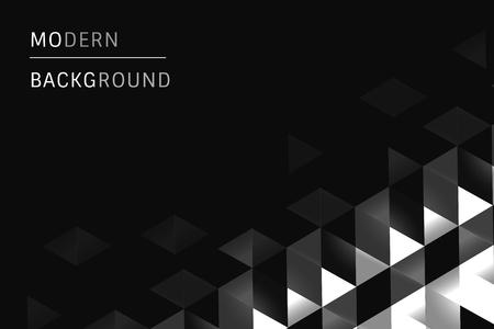 Black modern background design vector Illusztráció