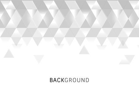 Weißer Prismahintergrund-Designvektor