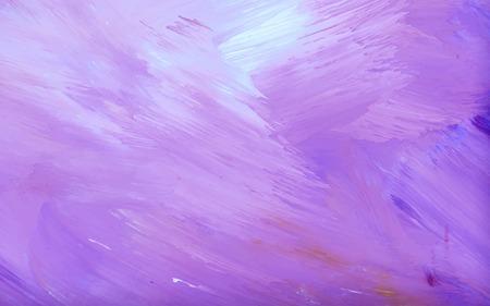 Vecteur de fond texturé de coup de pinceau acrylique abstrait violet