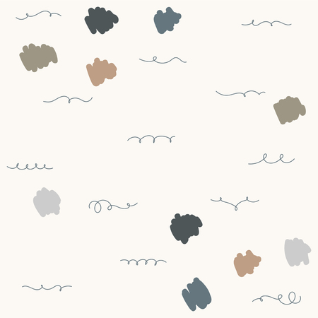 Abstract element patterned background vector